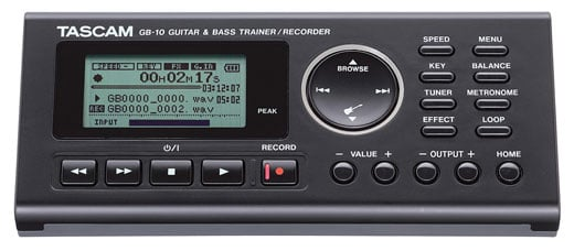 Tascam GB10 Guitar/Bass Trainer With Recorder