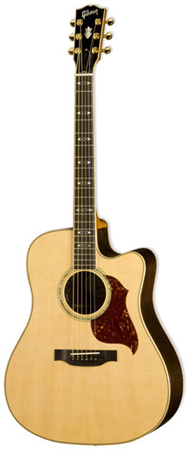 Gibson Songwriter Deluxe Standard EC Acoustic Electric with Case