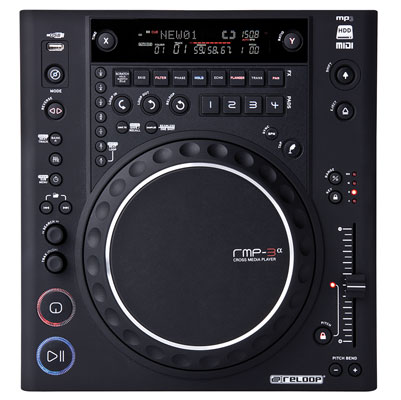 Reloop RMP3 Alpha USB DJ CD Player and MIDI Controller