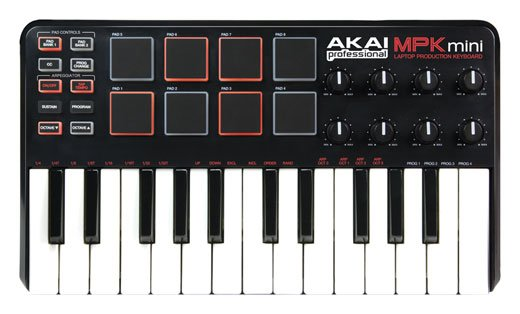 Akai MPKmini 25 Key Mini Controller Keyboard
