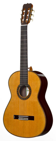 Ramirez 125 Anos Cedar Classical Acoustic Guitar With Case