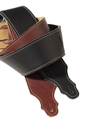Franklin Latigo Leather 2.5 Inch Guitar Strap