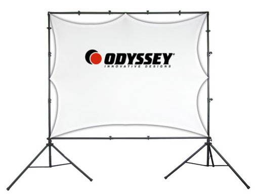 Odyssey LTMVSS1014L Projection Screen System with Carry Bag