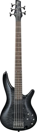 Ibanez SR405QM 5 String Electric Bass Guitar