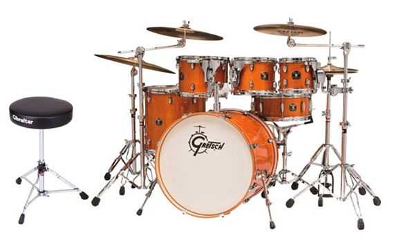 Gretsch Catalina Maple 5 Piece Shell Kit Drum Set
