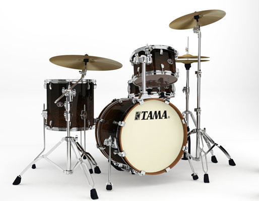 Tama Silverstar Jazz 4-Piece Shell Kit Drum Set
