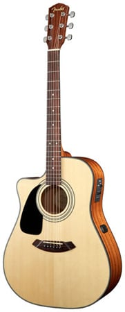 Fender CD100CE Left Handed Acoustic Electric Guitar