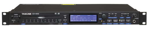 Tascam CD500 CD Player