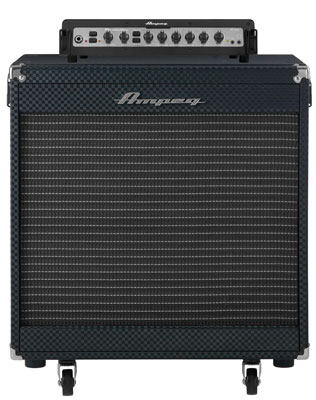 Ampeg Portaflex PF500 Bass Amp Head and PF115 Cabinet Combo