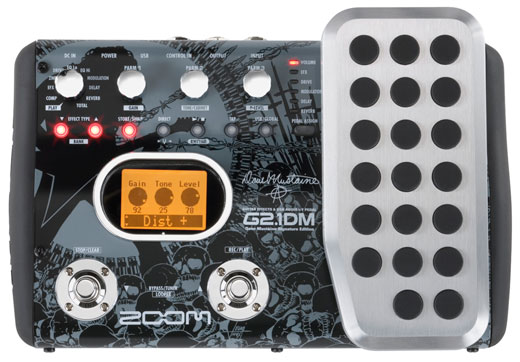 Zoom G2.1DM Dave Mustaine Signature Guitar Pedal
