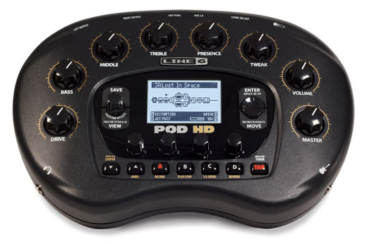 Line 6 POD HD Desktop Guitar Effects Processor