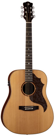 Luna AMT100 Americana Acoustic Electric Guitar