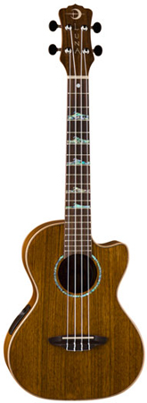 Luna High Tide Tenor Acoustic Electric Ukulele with Bag