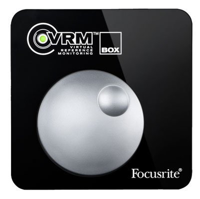 Focusrite VRM Box Virtual Reference Monitor Audio Interface