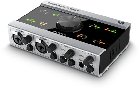 Native Instruments Komplete Audio 6 USB Interface