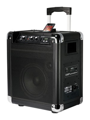 ION Audio Block Rocker Portable AM/FM PA with iPhone Dock