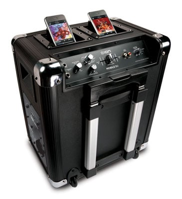 ION Audio Mobile DJ Portable PA with iPod and iPhone Mixing