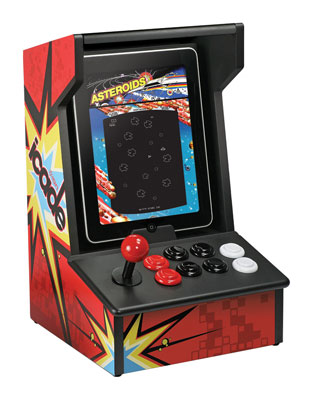ION Audio iCADE Retro Arcade Cabinet iPad Game Controller