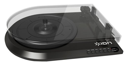 ION Audio Quick Play Flash Digital Conversion Turntable