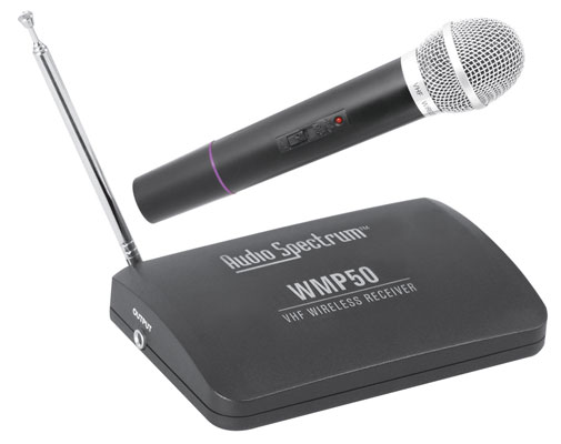 Audio Spectrum ASWMP50H Wireless Handheld Microphone System