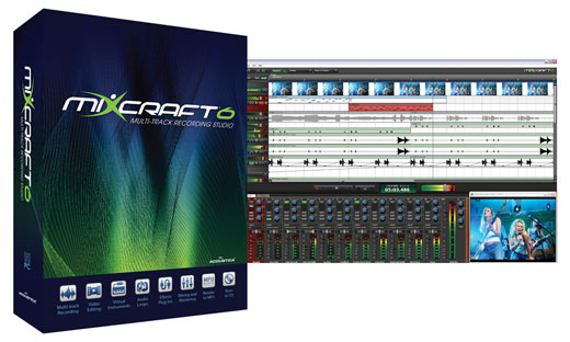 Acoustica Mixcraft 6 Music Production Software