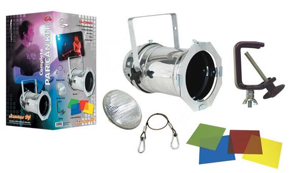 ADJ Par Can 64 Combo Par Can 64 Stage Light Package