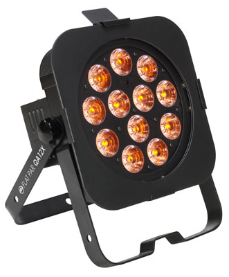 American DJ Flat Par QA12X Stage Light