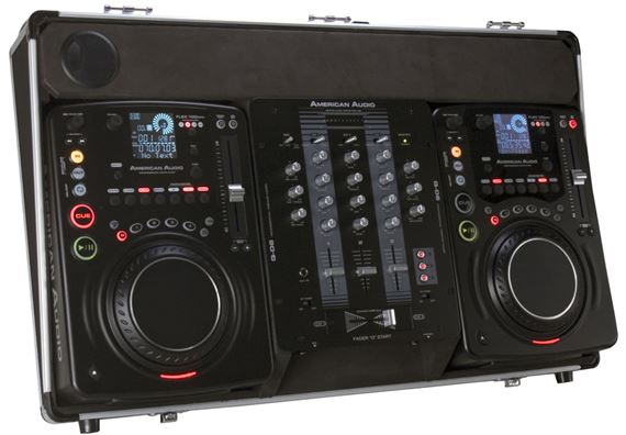 American Audio Flex 100 MP3 Complete DJ System
