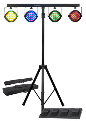 American DJ Mega Par Profile Stage Lighting System