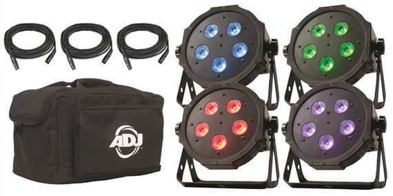 ADJ Mega Flat Tri Pak Stage Lighting System