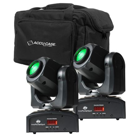 ADJ Pocket Spot Pak Moving Head Lighting Package with Bag