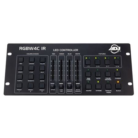 ADJ RGBW 4C IR Lighting Controller