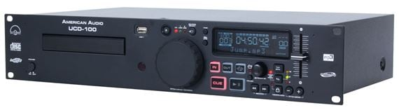 American Audio UCD100 MP3 and CD Player