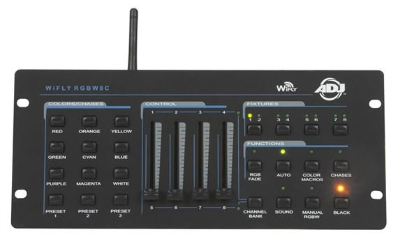 ADJ WiFLY RGBW8C Lighting Controller