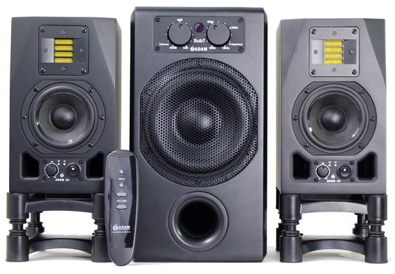 ADAM Audio A3X-Sub7 Studio Monitor Bundle