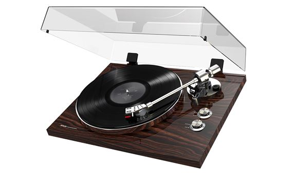 Akai BT500 Walnut Streaming Turntable