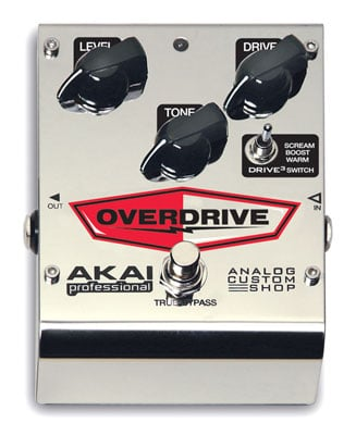 Akai Drive3 Overdrive Guitar Effects Pedal