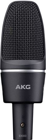 AKG C3000 Cardioid Large Diaphragm Side Address Condenser Microphone