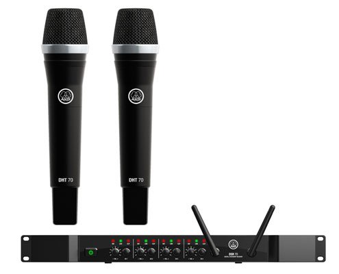 AKG DMS70 QR Vocal Set Quad Digital Handheld Wireless System