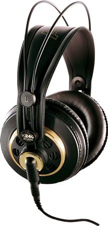 AKG K240Studio Professional Over Ear Semi Open Studio Headphones