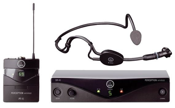 AKG WMS45 Perception Wireless Sports Set Headset Microphone System
