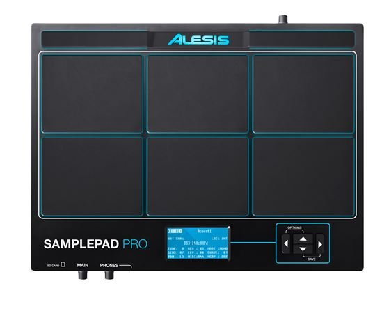 Alesis SamplePad Pro Eight Pad Sample Playback Percussion Instrument