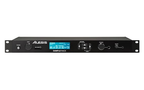 Alesis SampleRack Percussion Module With Onboard Sound Storage