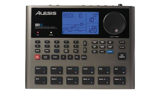 Alesis SR18 Portable Electronic Drum Machine With Effects