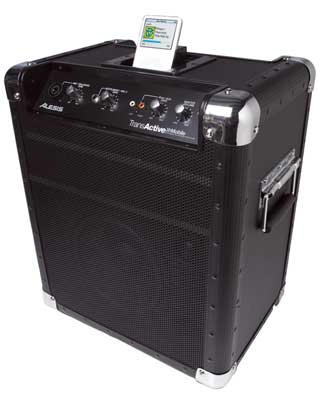 Alesis TransActive Mobile Portable PA System with iPod Dock