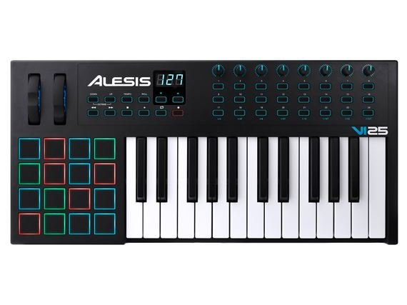 Alesis VI25 Advanced 25-Key USB MIDI Keyboard Controller