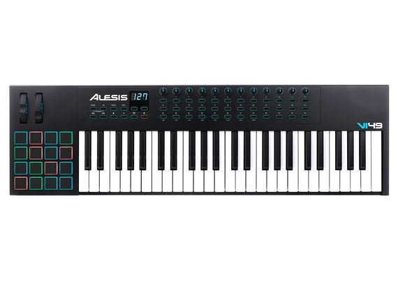 Alesis VI49 Advanced 49-Key USB MIDI Keyboard Controller