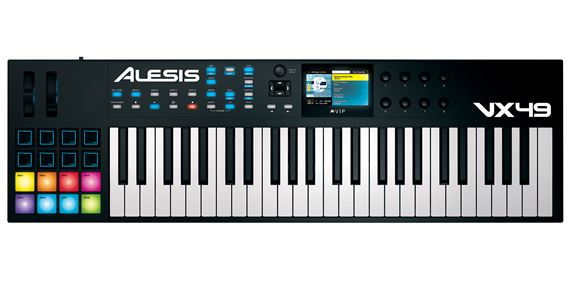 Alesis VX49 49 Key USB Keyboard VSTi Plug In Instrument Controller