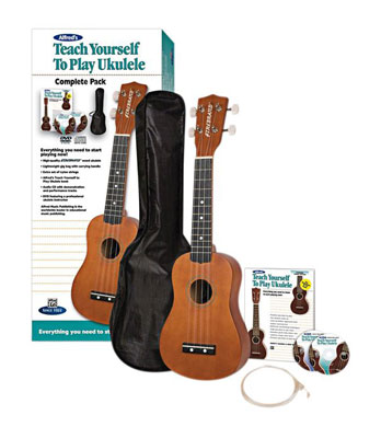 Alfred's Teach Yourself to Play Ukulele Complete Starter Pack