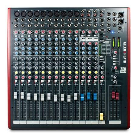 Allen & Heath ZED16FX 16 Channel Multipurpose USB Mixer With FX